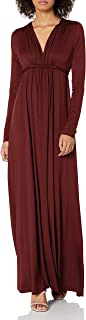 product image for Rachel Pally Women's Jersey Long Sleeve Full Length Caftan