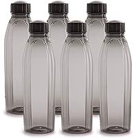 Cello Crystal PET Bottle Set, 1 Litre, Set of 6