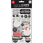 Me & My Big Ideas CBVX-44 Mambi Chips Baby It's Cold Outside Scrapbooking Supplies