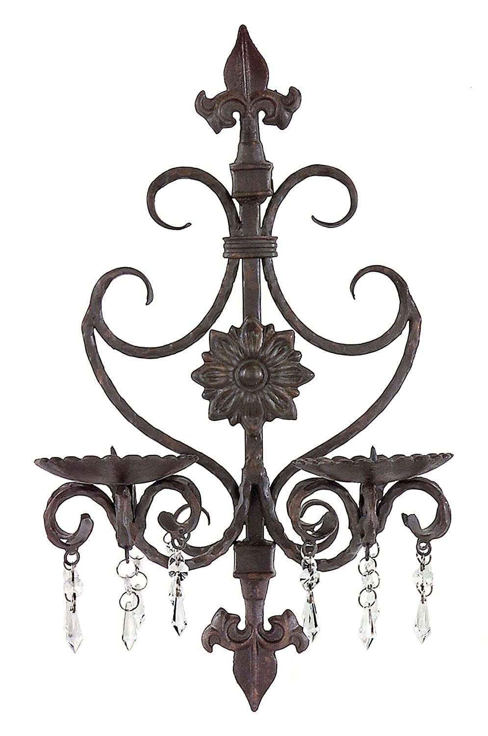 IMAX Orleans Wall Sconce, Black 7790