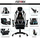 Ficmax Massage Gaming Chair Racing Style Office