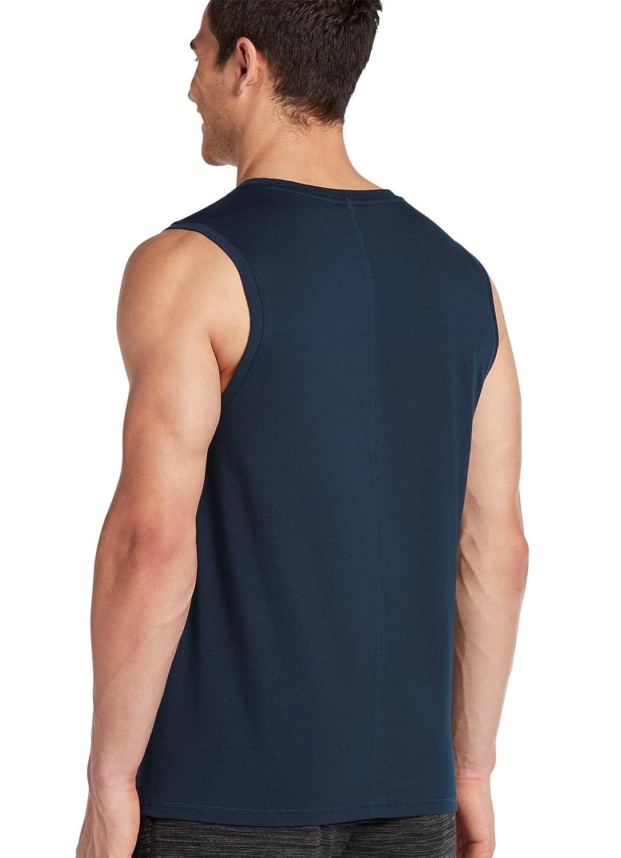 e639e046 Jockey Men's T-Shirts Cotton Wick Muscle Tee, Black, S at Amazon Men's  Clothing store: