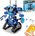 STEM Projects for Kids age 8-12 Remote & APP Controlled Robots for kids, Compatible with LEGO Robot Science kit