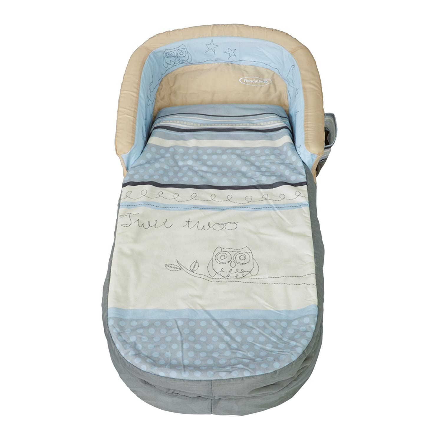 Sleepytime Owl My First ReadyBed - Inflatable Toddler Air Bed and Sleeping Bag in one Worlds Apart 401GNI01E