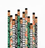 Rifle Paper Co. #2 Folk Writing Pencils -- Set of 12 Assorted