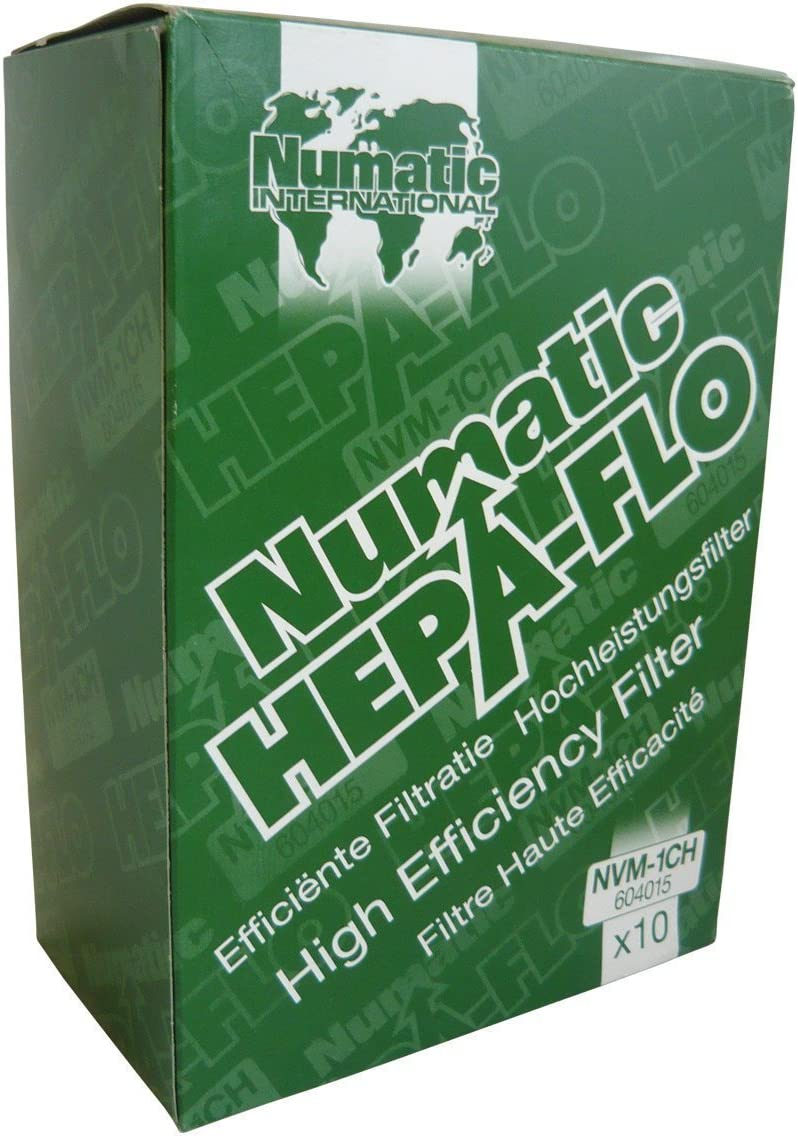 Numatic NVM-1CH Hepaflo - Bolsas para aspiradora Henry (10 unidades), Blanco, Pack 10: Amazon.es: Hogar