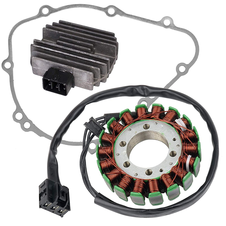 Amazon.com: CALTRIC STATOR REGULATOR RECTIFIER GASKET FOR ...