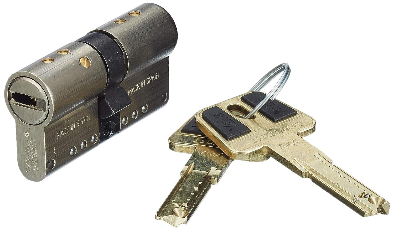 Yale-azbe hsk - Cilindro modular 30x30 niquel: Amazon.es: Bricolaje y herramientas