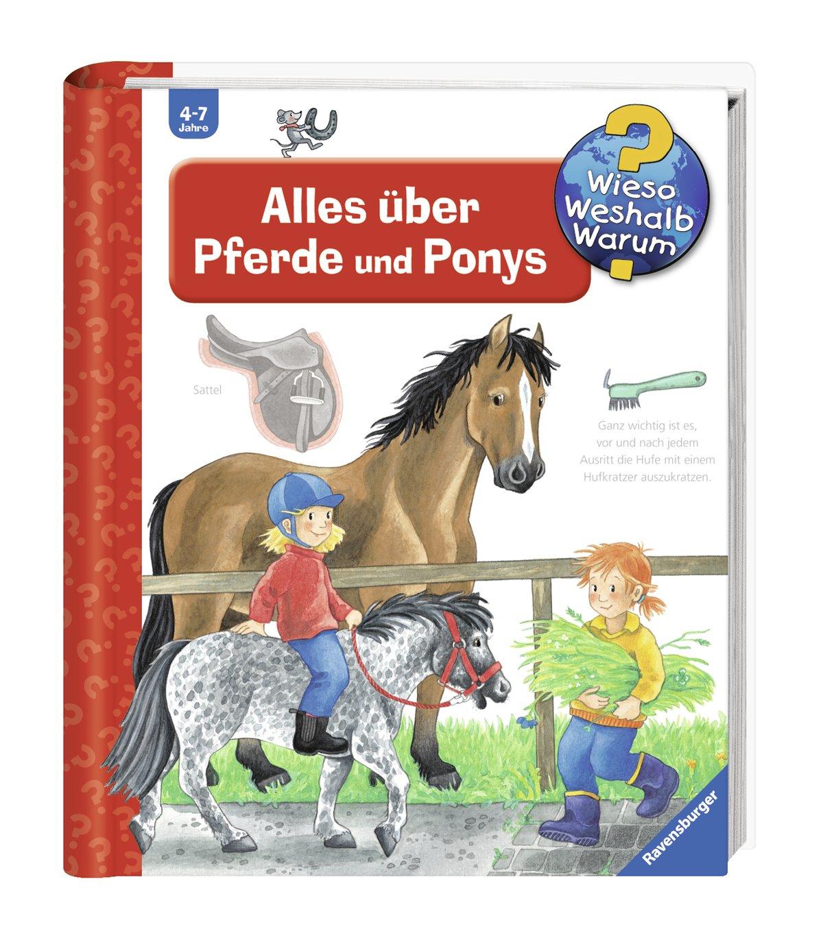 Alles über Pferde und Ponys Wieso? Weshalb? Warum?, Band 21: Amazon ...