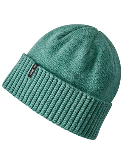 b38c59aa473 Patagonia Hats Brodeo Recycled Wool Beanie Hat - Black  Amazon.co.uk ...