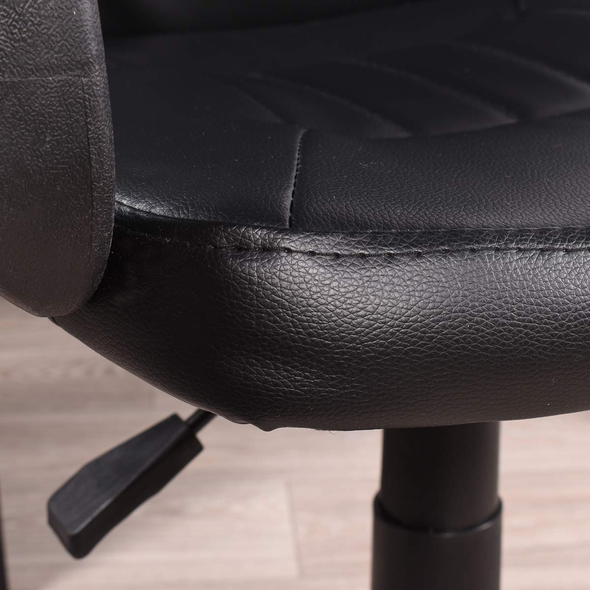 FurnitureR Office Chair Adjustable High Back Swivel Chair Leather Gaming Computer Office Chair