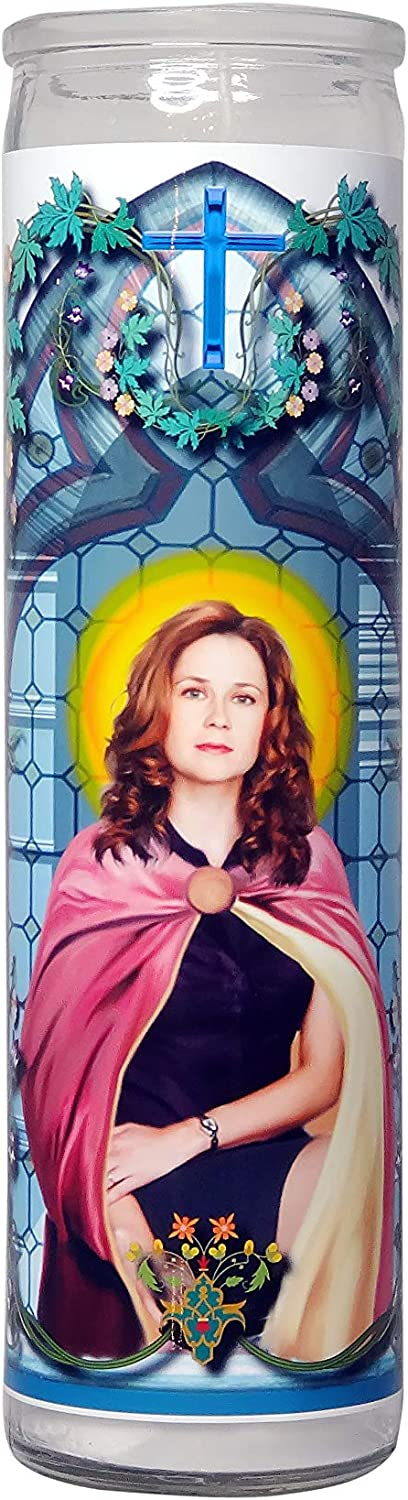 My Pen 15 Club The Office Pam Beesly Celebrity Prayer Candle