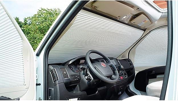 Remis Campingbedarf Frontscheibenverdunkelung Remifront Für Renault Master 33862 Standard Auto
