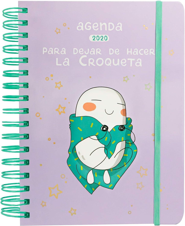 Agenda anual 2020 Croqueta: 19 (TANTANFAN)