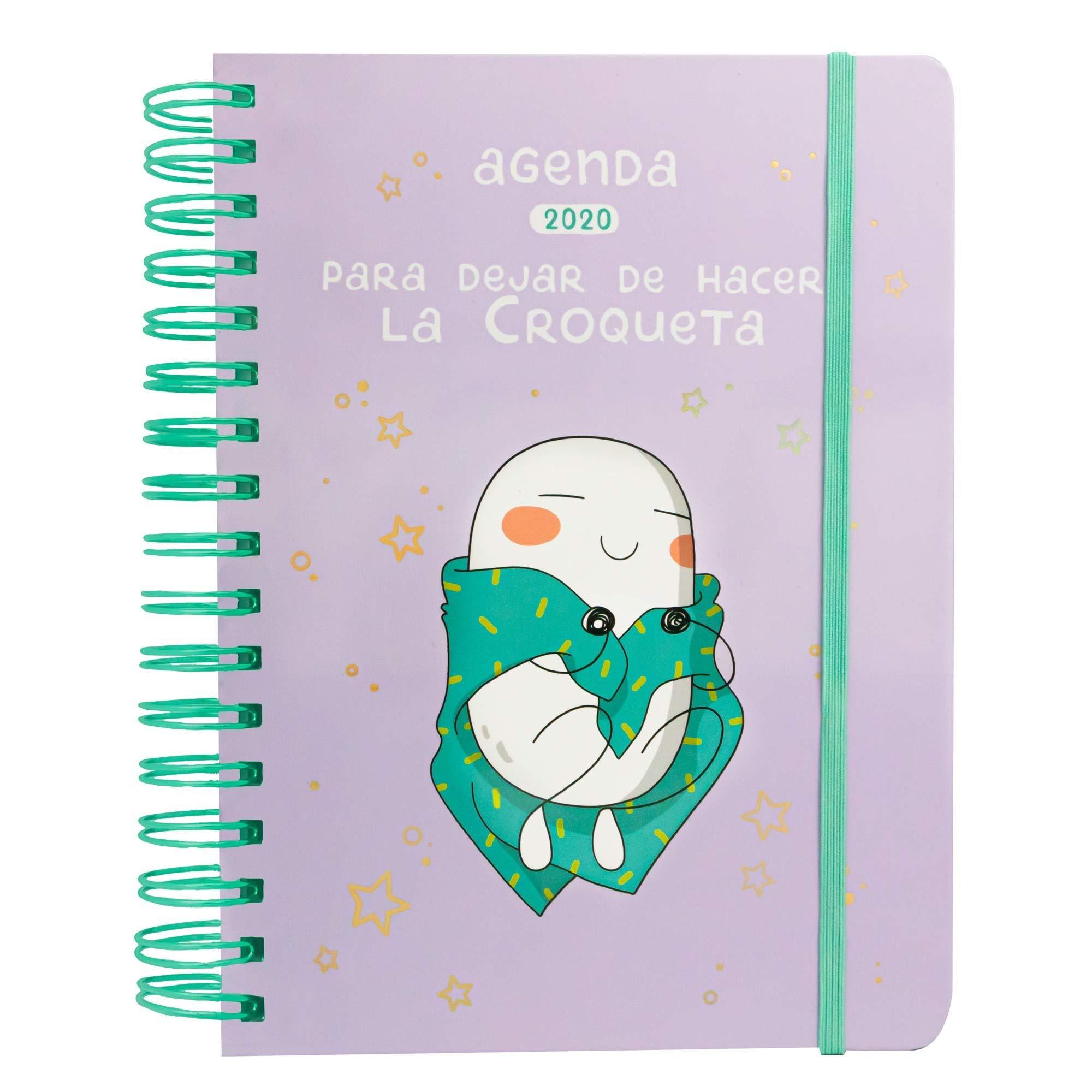 Agenda anual 2020 Croqueta: 19 (TANTANFAN): Amazon.es ...
