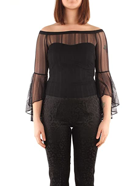 231db14acf1 GUESS Women's Flaviana Pointelle Bell-Sleeve Top: Amazon.ca: Clothing &  Accessories