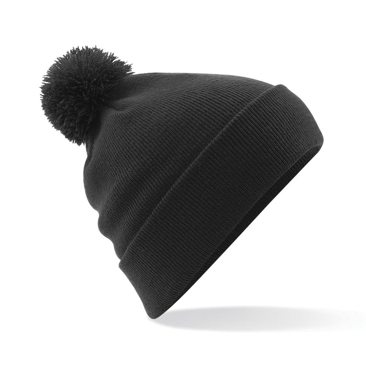 Beechfield - com - Gorro beanie de invierno com B07BCC229T Pom-pom ...