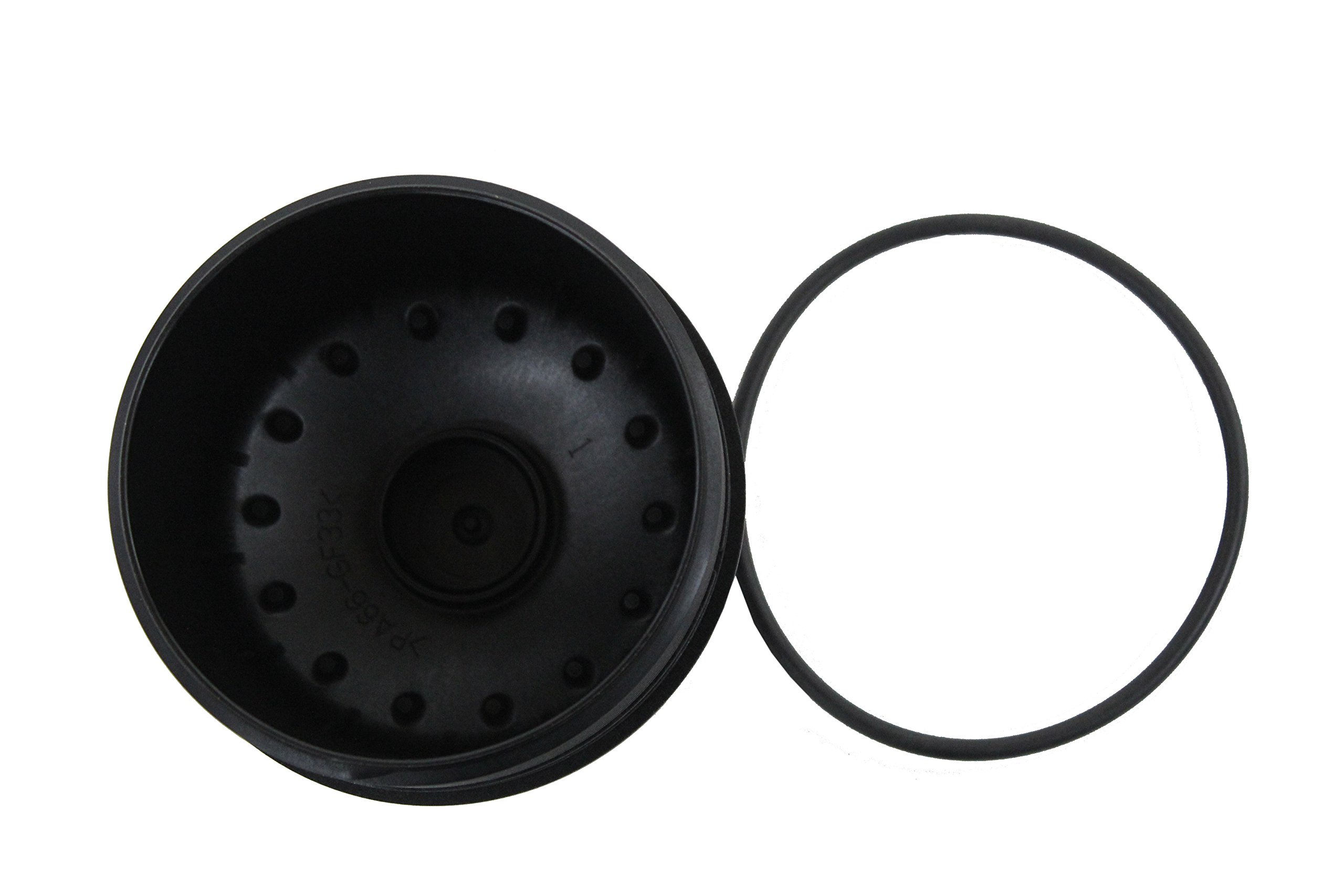 Genuine Ford 3C3Z-6766-CA Oil Filler Cap Assembly by Ford