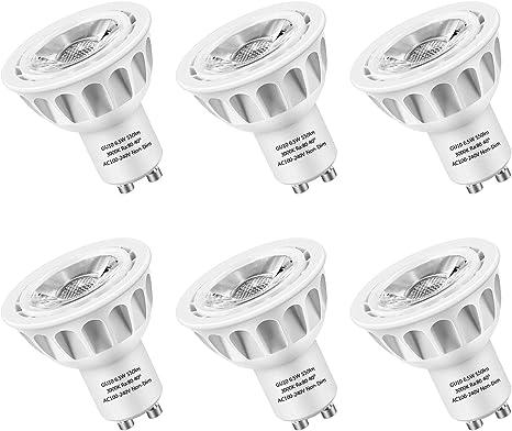 Amazon.com: LEDMEI - Bombillas LED GU10, equivalentes a ...