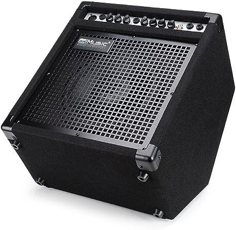Coolmusic DK-35 - Amplificador de batería eléctrico, 35 W, altavoz ...
