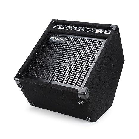 Coolmusic DK-35 - Amplificador de batería eléctrico, 35 W, altavoz de estación