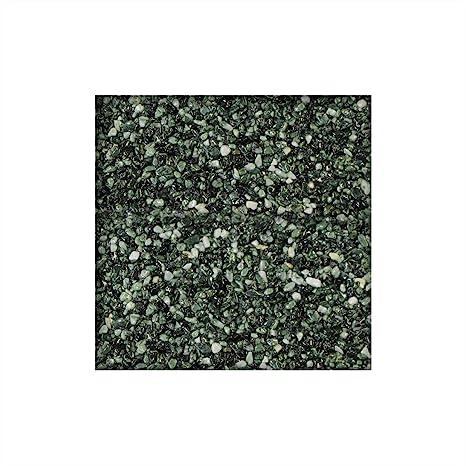 25 kg Steinteppich Marmorkies inkl 2,3 m/² direkt vom KiesK/önig/® Ebano Schwarz 1K Bindemittel 2-4 mm ausreichend f/ür ca