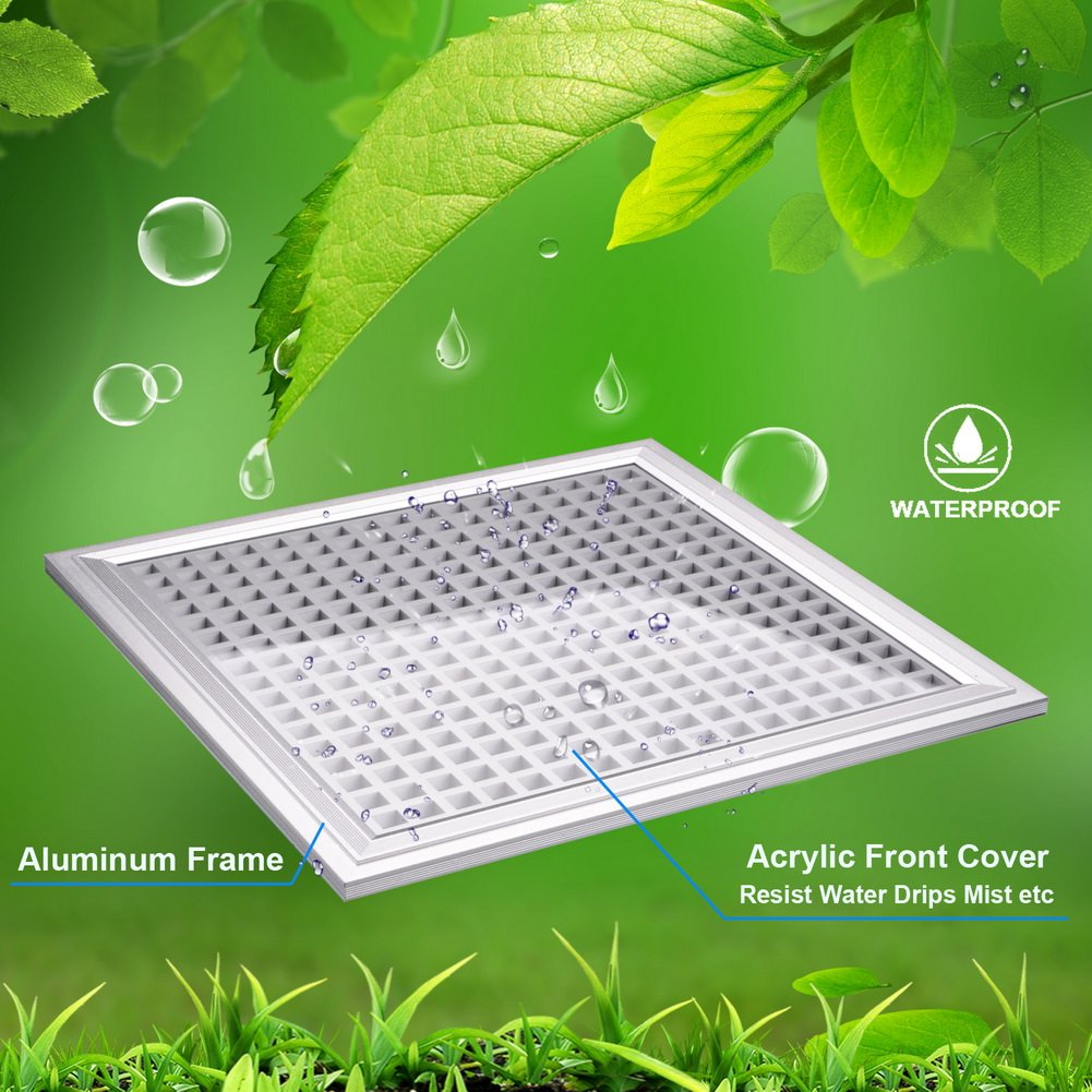 LED Grow Light for Indoor Plants Growing Lamp 150W 289 LEDs Dimmable Plant Lights Bulb Panel Hanging Kit for Seedling Hydroponics Greenhouse Veg and Flower by Hytekgro by Hytekgro (Image #6)