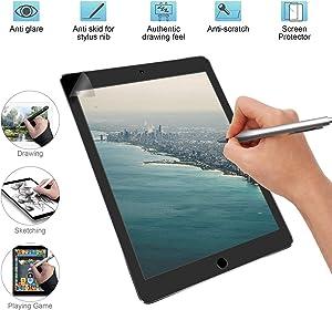 E EGOWAY Paper like Screen Protector Drawing Texture Paper Matte PET Film for iPad Mini 7.9 inch (iPad Mini 5 4)