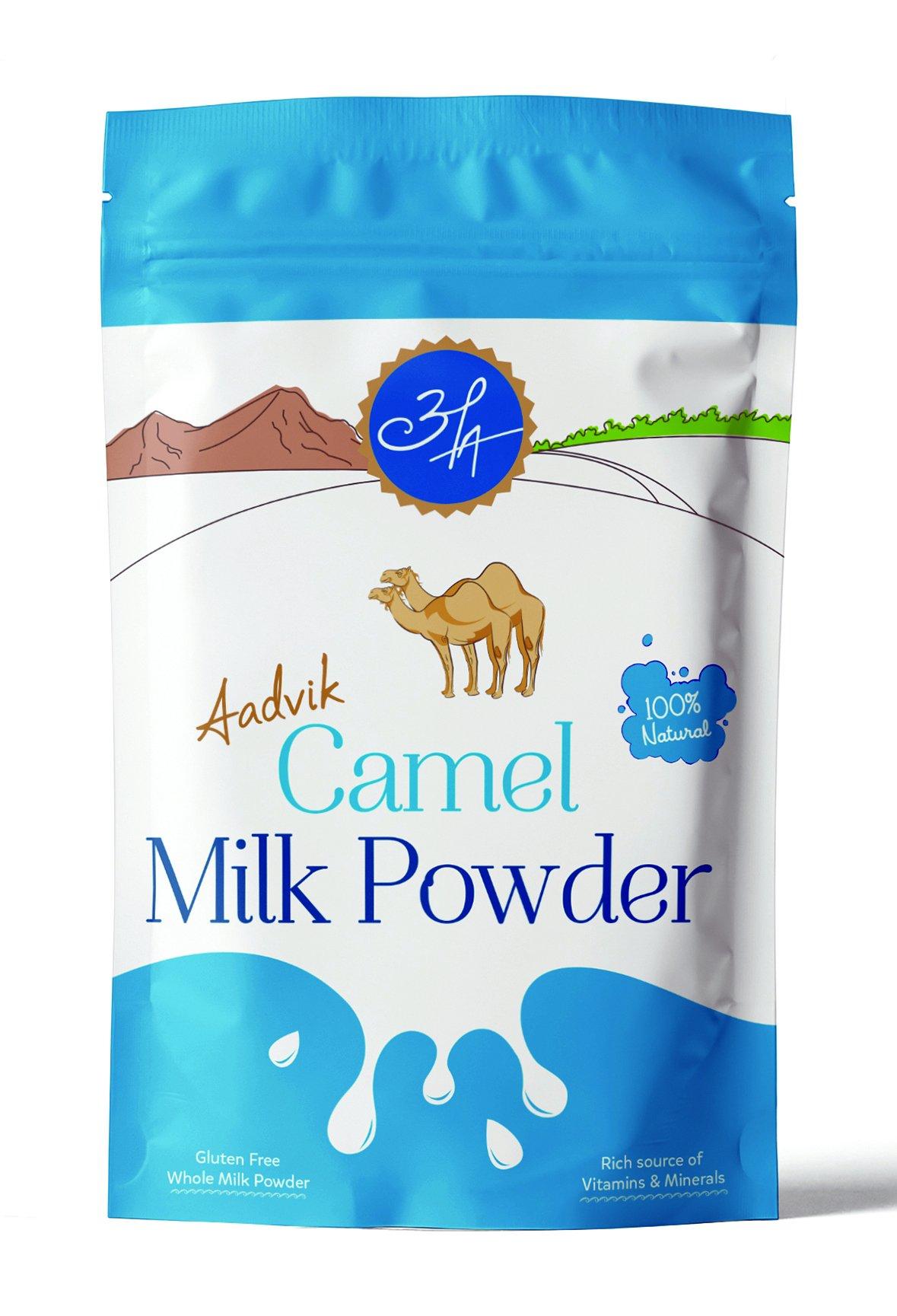 Aadvik Camel Milk Powder 7 Oz (Freeze Dried, Gluten Free, No Additives) 10 servings, makes 70 fl oz