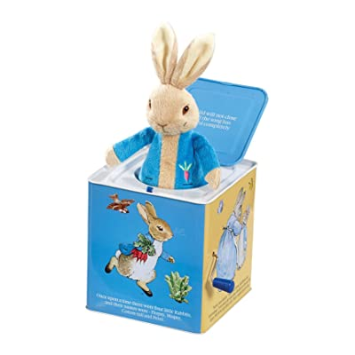 Rainbow Designs Peter Rabbit Jack In The Box: Toys & Games