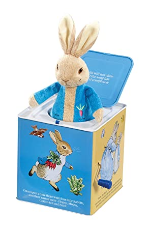 Peter Rabbit Caja sorpresa de Perico el conejo travieso: Amazon.es: Juguetes y juegos
