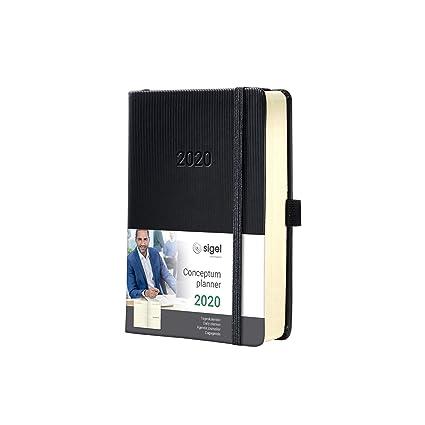 SIGEL C2011 Agenda diaria 2020 Conceptum, tapa dura, 10,8 x ...