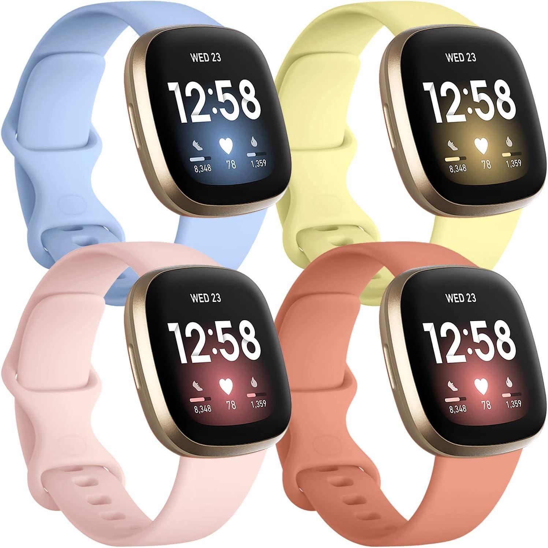 Mallas Para Reloj Fitbit Sense Y Fitbit Versa 3 (Talle L)4u