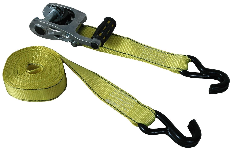 Highland 1158800 Yellow 15 Max Grip Ratchet Tie Down