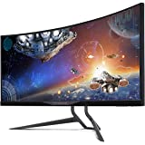 Acer 34-Inch 3440 x 1440 QHD Ultrawide G-Sync Curved IPS Gaming Monitor, X34P