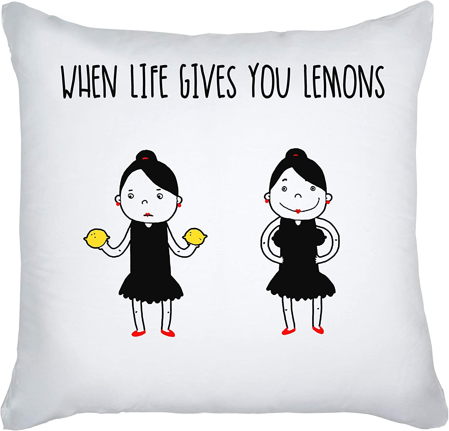 how to use decorative pillows amazon com graphke when life gives you lemons use it decorative how to use throw pillows on a bed amazon com graphke when life gives you