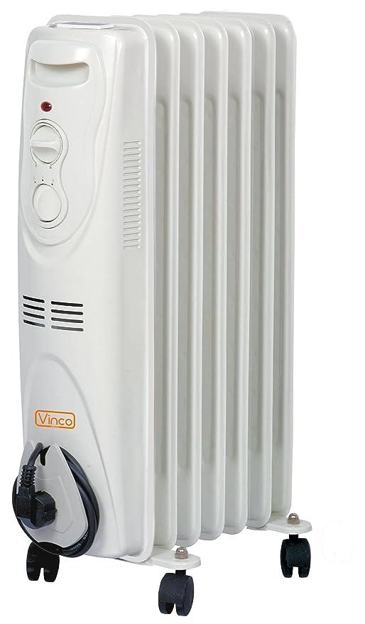 Radiador de aceite Vinco 70500 7elementi 1500 W: Amazon.es ...