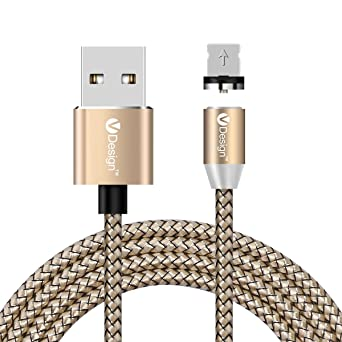 Amazon.com: UGI - Cable magnético micro USB, cable de carga ...