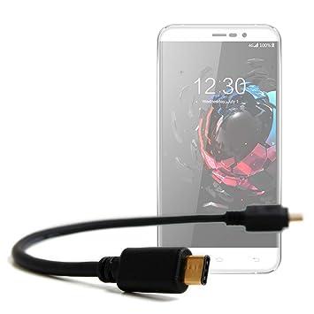 DURAGADGET Cable USB C a Micro USB para Smartphone UMI Hammer S ...
