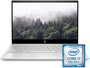 "2019 HP Envy 13 13.3"" 4K IPS Touchscreen Laptop Computer, Intel Quad-Core i7-8565U Up to 4.6GHz, 16GB DDR4, 2TB Pice SSD, NVIDIA GeForce MX250, AC WiFi, Bluetooth, Windows 10 Home"