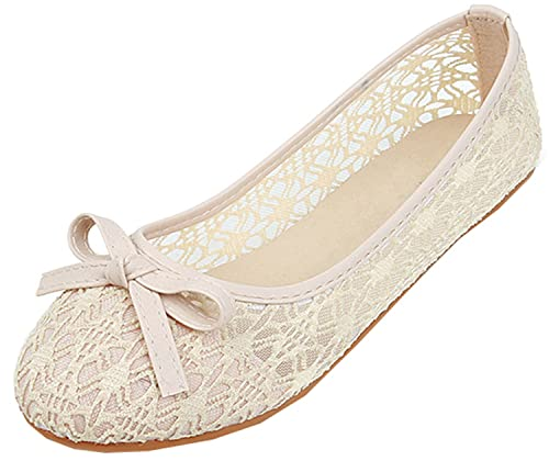 e560c58f004db Quterloidf Summer Shoes Women Flats Cut-Out Slip on Shoes Lace Women  Ballerina Flats Sweet Ladies Shoes Loafers: Amazon.ca: Shoes & Handbags