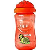 Luvlap Turtle Sipper, Orange, 360ml