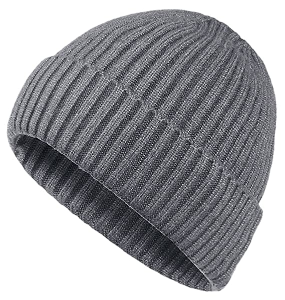 e20a9562196 Oryer Mens Winter Hats Wool Knit Slouchy Beanie Warm Hat Baggy Skull ...