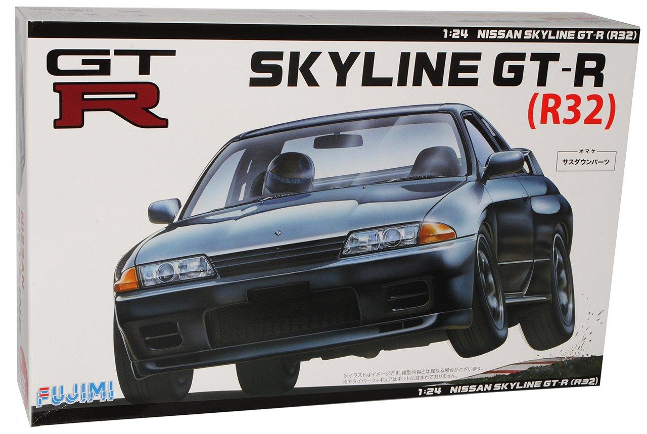 Nissan Skyline R32 GT-R Coupe Schwarz 1989-1993 Kit Bausatz 1//24 Fujimi Modell..