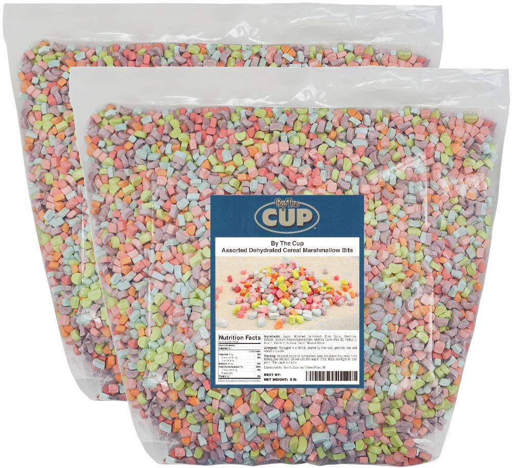 Cereal Marshmallows 8 Pounds Bulk by By The Cup