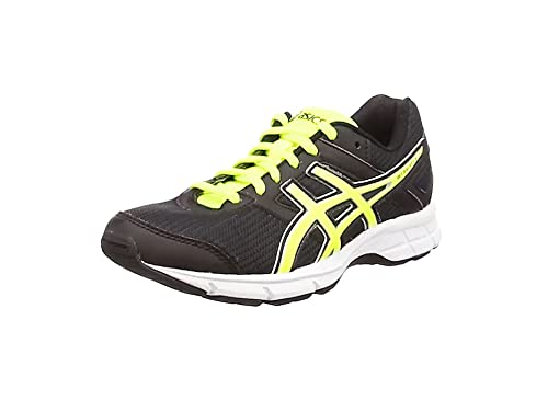 ASICS - Gel-Galaxy 8 GS, Zapatillas de Running Niños-Niñas, Negro (Black/Flash Yellow/White 9007), 39.5 EU: Amazon.es: Zapatos y complementos