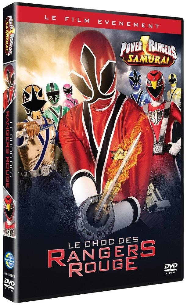 Power Rangers : Le choc des Rangers Rouges : Le Film Francia DVD: Amazon.es: Sally Campbell, Jonathan Tzachor: Cine y Series TV