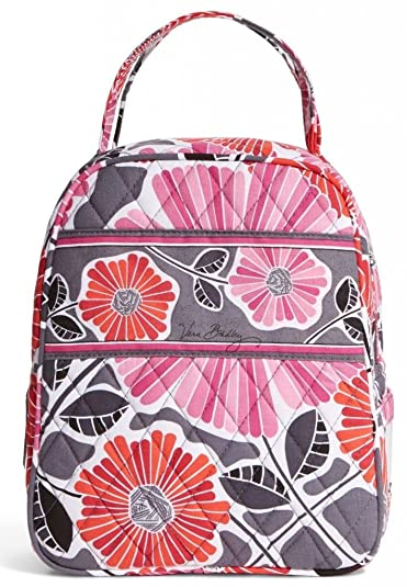 Amazon.com  Vera Bradley Lunch Bunch in Cheery Blossoms  Shoes d86f966462f40