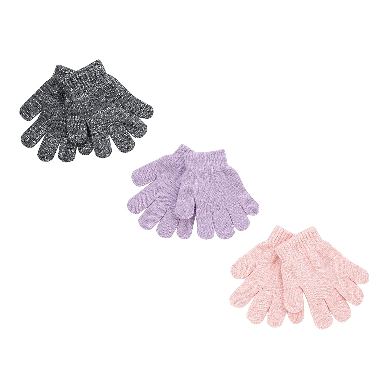 bluezoo Kids 3 Pack Toddler's Assorted Magic Gloves