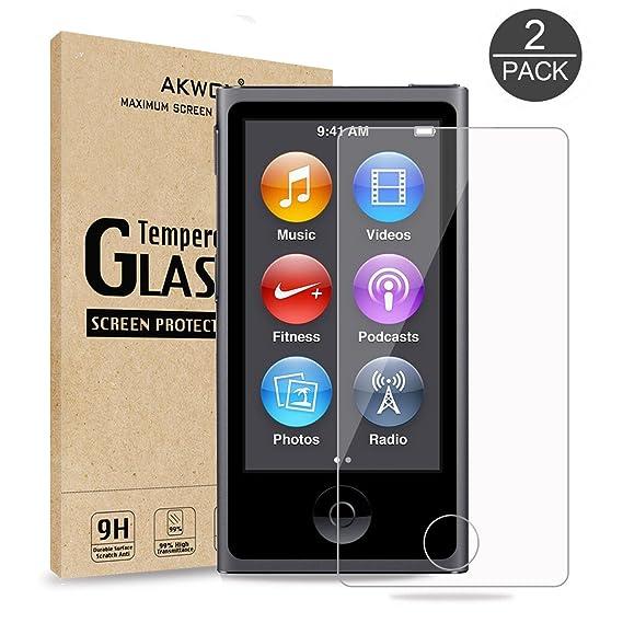 amazon com pack of 2 ipod nano 7 8th screen protector akwox 0 33 rh amazon com iPod Nano 4th Generation ipod nano 7 user guide